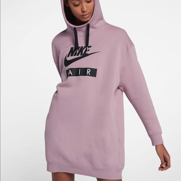 ba0e8dd9da Nike Air Oversized Hoodie Dress. M 5b2f0300c9bf506f2ea51ce5